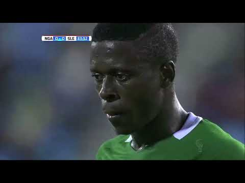 Match day 3 11 September Nigeria vs Sierra Leone
