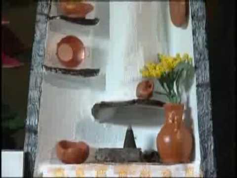 Tejas artesanas el andaluz youtube - Como decorar tejas rusticas ...