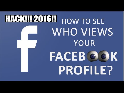 how to see who stalks your facebook page