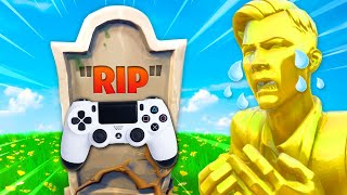 RIP Controller players... (Fortnite UPDATE)