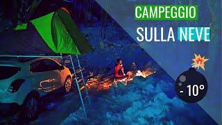 -10° in tenda sulla neve