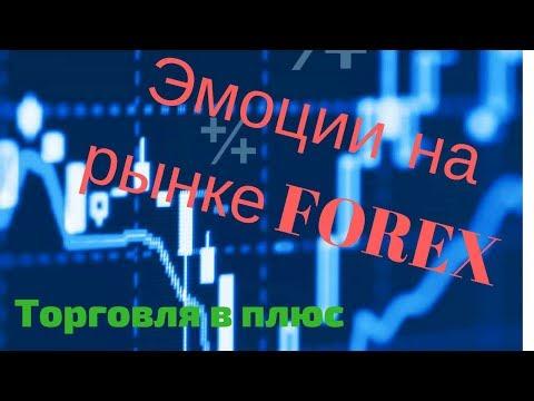 Эмоции при торговле на рынке Forex