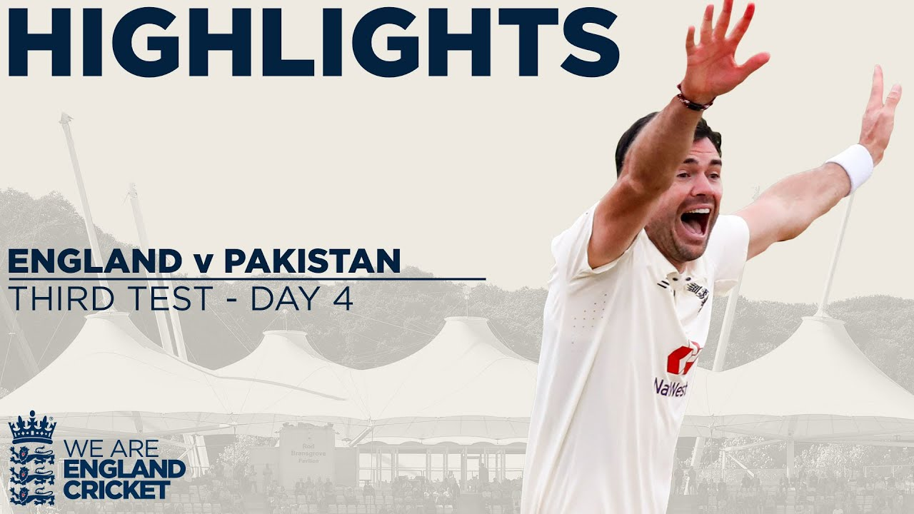 Download Day 4 Highlights | James Anderson Takes 599th Test Wicket | England v Pakistan 3rd Test 2020