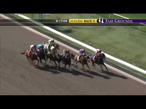 New Orleans Classic Stakes (Gr 2) Post Parade & Race Replay 2021. What a thrilling finish!