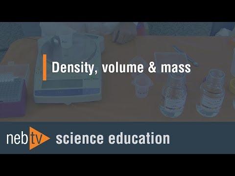 Kid Science - Density, Volume & Mass