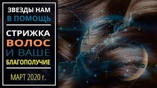 Март  2020 г. | Стрижка волос и ваше благополучие
