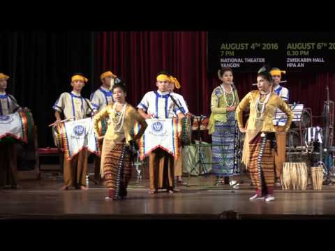 Sweet and lovely Rakhine traditional song and dance (taken by Nyein Chan Naing)