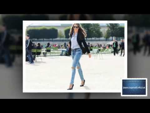 женские джинсы - YouTube