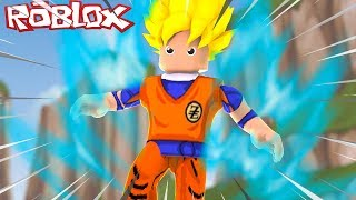 Roblox: VIREI SUPER SAIYAJIN NO ROBLOX !! ( Dragon Ball Blox Verse)