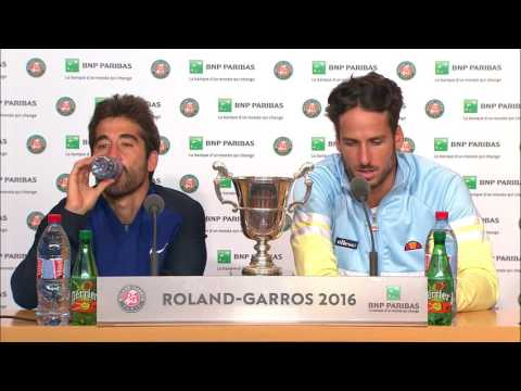 Feliciano Lopez, Marc Lopez thwart Bryan brothers to win French Open doubles