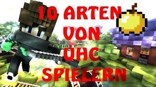 10 ARTEN von UHC SPIELERN