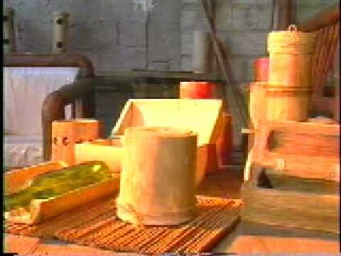 Catalogo de artesanias en guadua y bambu de san agust n for Muebles san agustin fonteculler