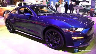 2018 Ford Mustang Ecoboost Fastback - Exterior and Interior Walkaround - 2018 New York Auto Show