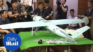 South Korea confirms drone discovered was from North Korea - Daily Mail
