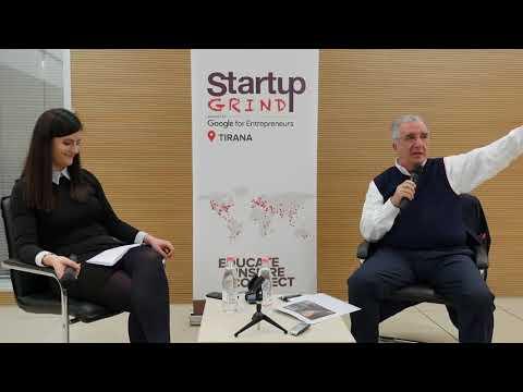 Startup Grind Tirana hosts Jose Pinto