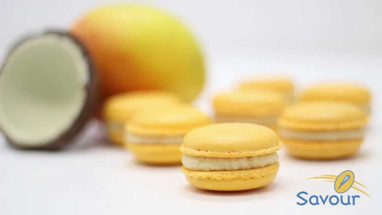 how to make macarons coconut