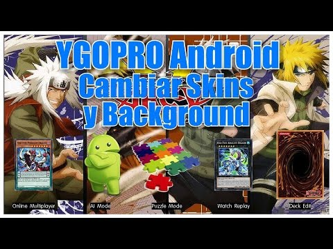 Repeat YGOPRO Tutorial - How to Change Menu Screen, Card