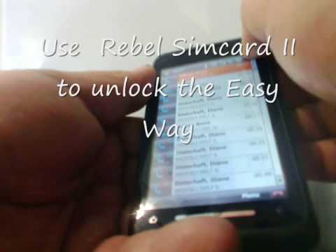 Rebel Simcard II Unlocks the Toshiba TG 01 Touch Screen Phone