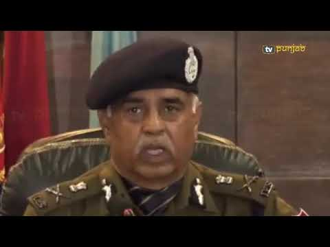 what exactly happened with Vicky Gounder listen from DGP Punjab