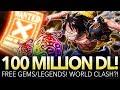 100 MILLION DOWNLOAD CELEBRATION BEGINS! Japan VS. The World! (ONE PIECE Treasure Cruise)