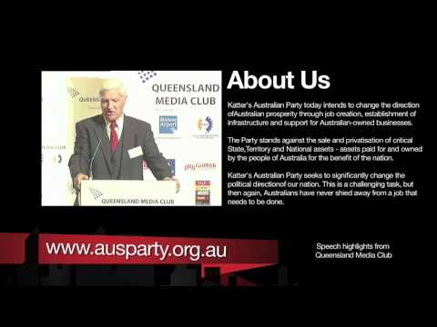 Bob Katter: Queensland Media Club