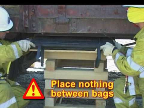 Lifting using Vetter Airbags