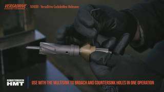 VersaDrive™ CarbideMax TCT Holesaw video - 10X LONGER LIFE THAN BIMETAL HOLESAWS