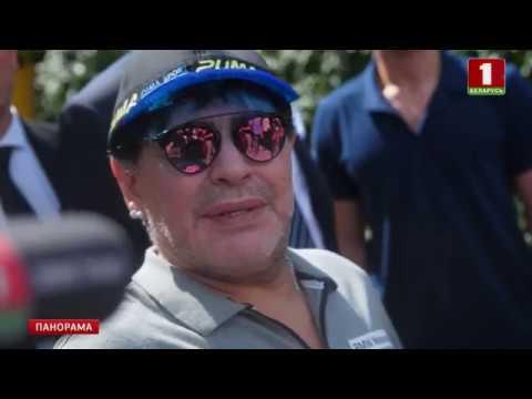 видео: Диего Марадона официально вступил в должность председателя правления брестского «Динамо». Панорама