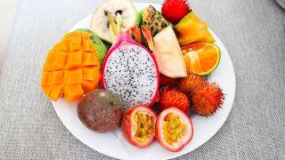 Обзор Вьетнамских Фруктов(Друзья! Делимся с вами впечатлениями о тропических фруктах. На видео я все еще болею и рулон был..., 2017-02-06T13:00:20.000Z)