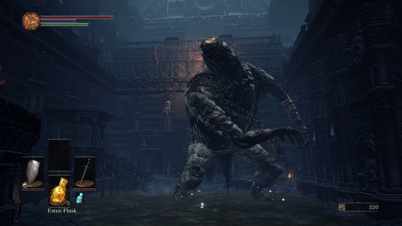 dark souls 3 how to get to cathedral early