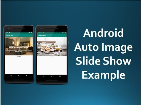 android auto image slider example