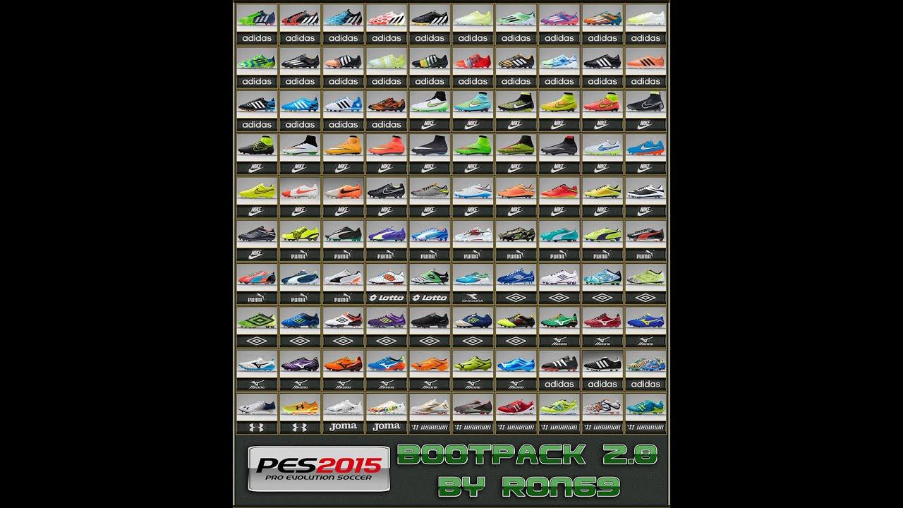 descargar botas y balones para pes 2010