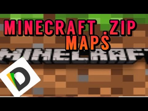 New 2019||HOW TO DOWNLOAD ZIP MAPS (IOS) (Minecraft Pocket Edition)