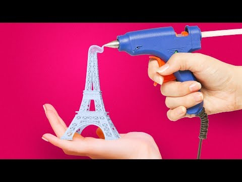 20 HOT GLUE IDEAS