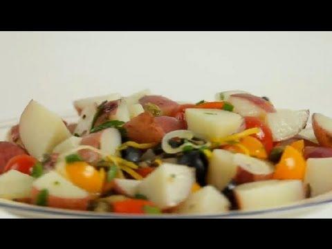 Red Potato & Tomato Salad : Tomato Salads