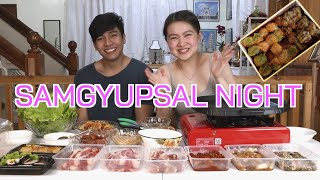 Samgyup Mukbang Night with Mahal