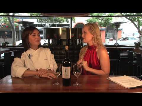 Chef Holli Ugalde From Hells Kitchen Pairs Crustini With Wine