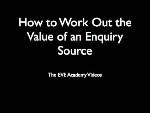 How to Work Out the Value of an Enquiry Source (intro)