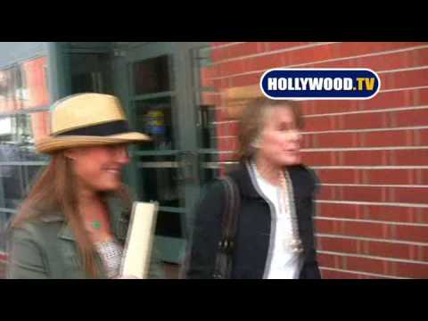 Sissy Spacek & Schuyler Fisk Draw Attention in Beverly Hills