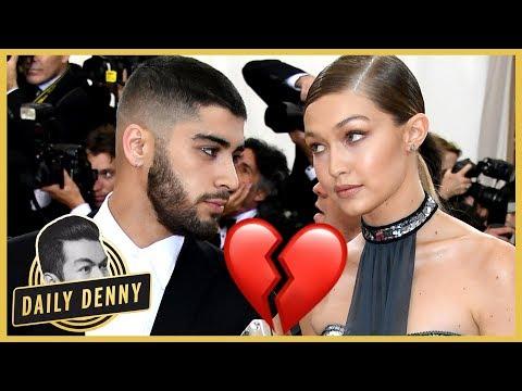 Zayn Malik And Gigi Hadid Split 😱😭 What Happened? | Daily Denny