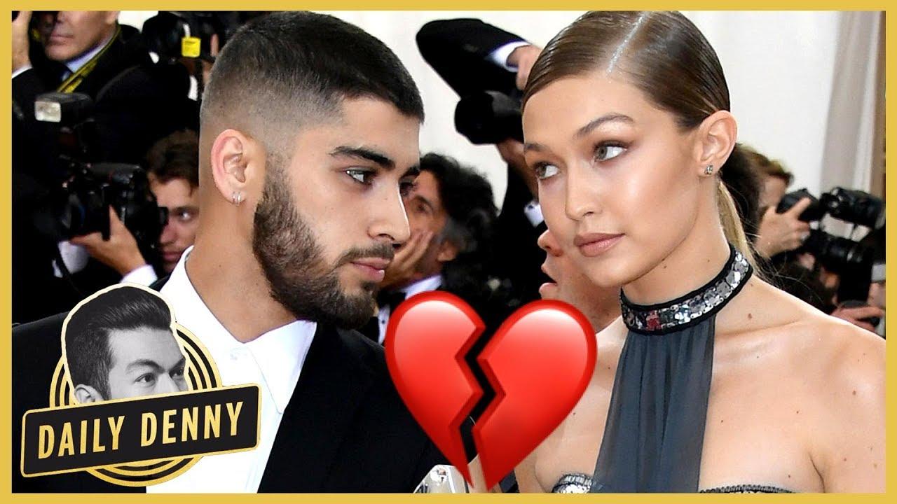 Zayn Malik And Gigi Hadid Split 😱😭 What Happened?   Daily Denny #1