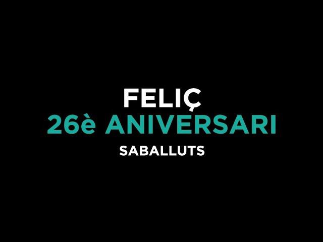 26è ANIVERSARI DELS SABALLUTS