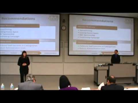 1st Place | Not-for-Profit Case |  Gustavson School of Business - UVic | JDC West 2012