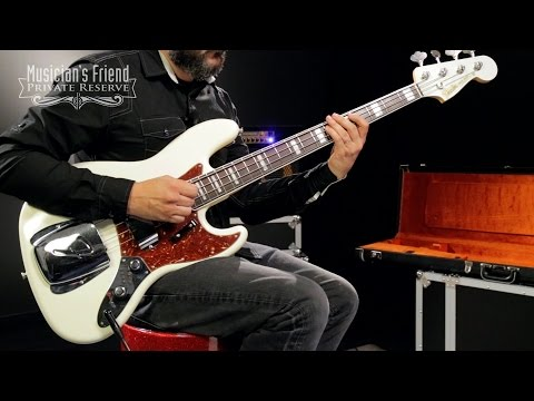 Fender Custom Shop 1961 Jazz Bass Closet Classic Masterbuilt by John Cruz, Olympic White