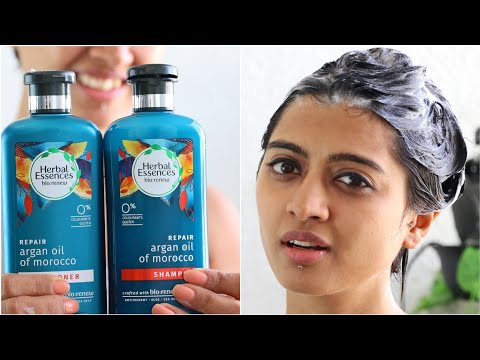 Herbal Essences Shampoo & Conditioner Review + Natural Hair Care Tips