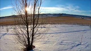 Dji Phantom Flight: Wyoming, Usa, Jan. 2, 2015