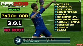 PATCH PES 2019 3.0.1 No root Mobile Android