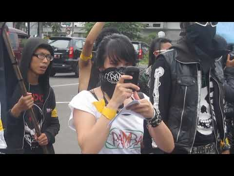 Punk vs Sharia (Aceh punks incident) Solidarity from Bandung punks