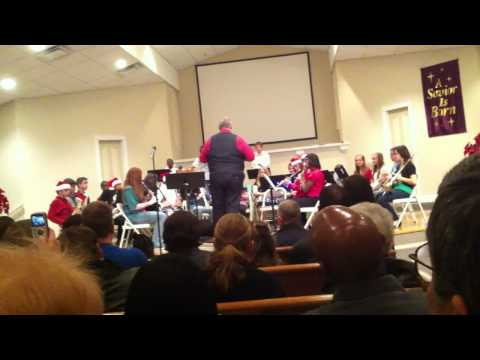 Beulah Academy of Science 7th Grade Band-Christmas
