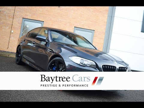 SINGAPORE GREY BMW M5 4.4 DCT at Baytree Cars